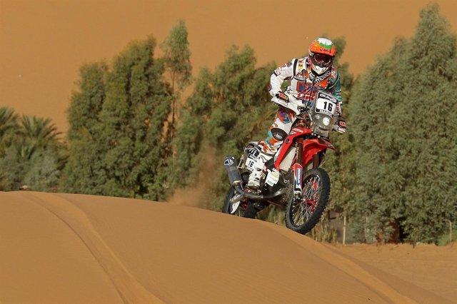 Laia Sanz Rally Marruecos