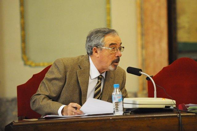 El concejal de UPyD en el Ayuntamiento de Murcia, José Antonio Sotomayor