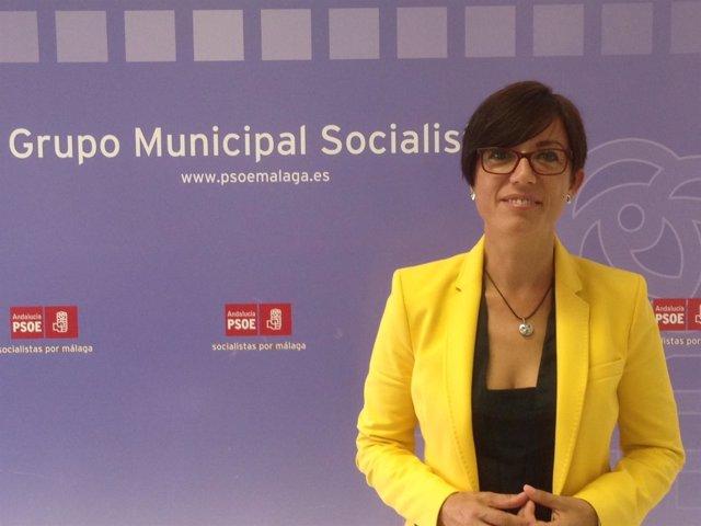 María Gámez, PSOE Málaga