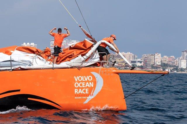 Team Alvimedica regata costera Volvo Ocean Race VOR
