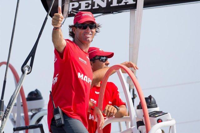 Iker Martínez MAPFRE Volvo Ocean Race VOR