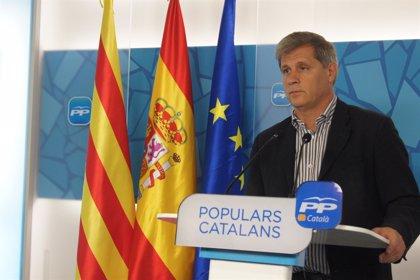 Alberto Fernández (PP) exige separadores en el carril bici de la Diagonal para mejorar la seguridad