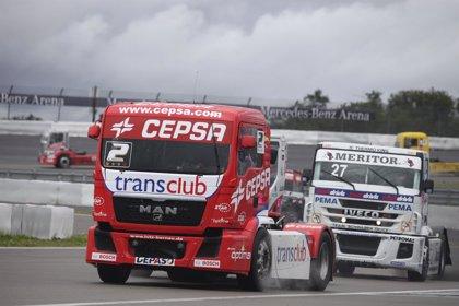Antonio Albacete logra dos nuevos podios en el Jarama y se mantiene líder del Europeo de camiones