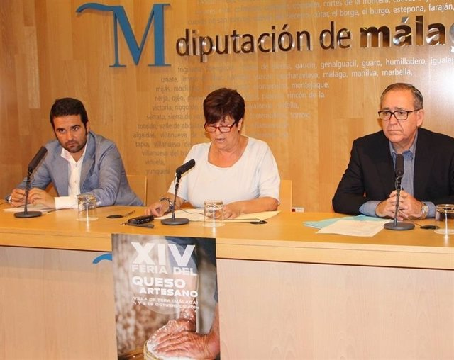 Presentación de la Feria del Queso Artesano de Teba