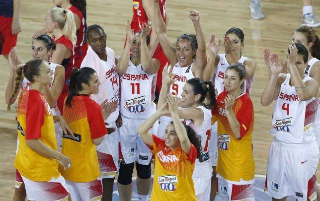 La selección española femenina de baloncesto en el Mundial de Turquía