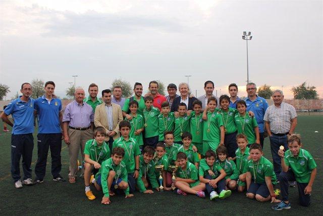 XXV Torneo alevín de fútbol 8