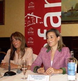 Pilar Argente y Dolores Merino
