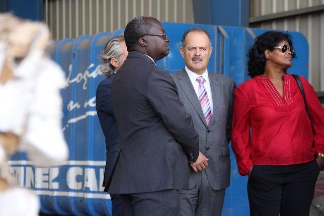 El ministro de Medio Ambiente de Cabo Verde, Emanuel Antero