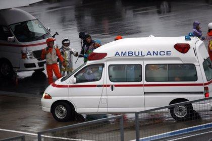 Bianchi, inconsciente tras sufrir un accidente