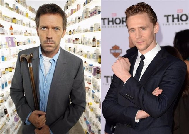 Hugh Laurie y Tom Hiddleston