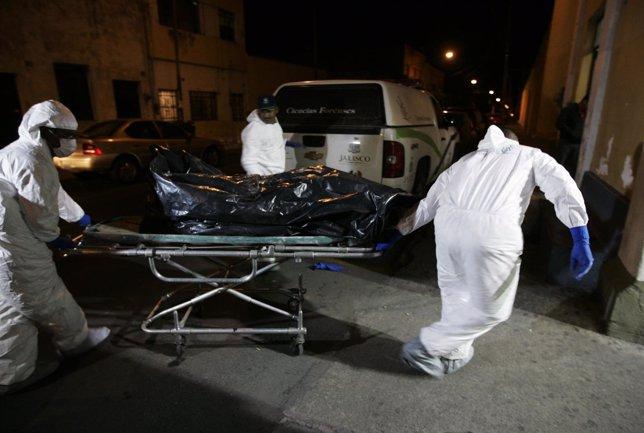 cadáveres en México, violencia