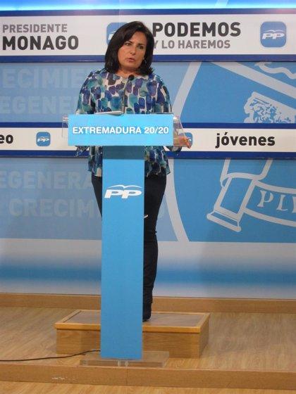 """El PP dice que Extremadura """"nunca"""" ha tenido un gobierno que haya destinado """"tantos esfuerzos"""" al campo como el actual"""
