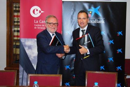 CaixaBank y la Cámara de Terrassa renuevan su colaboración para apoyar a las empresas