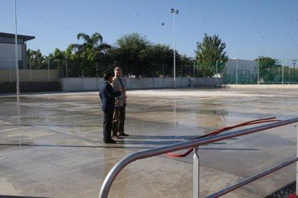 El Gobierno invierte más de 74.600 euros en la remodelación de las instalaciones deportivas de Encinarejo