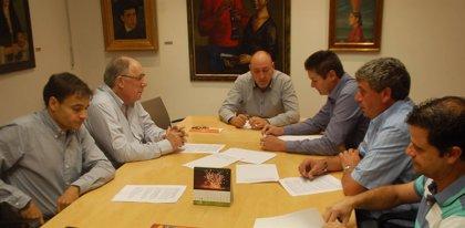 Fraga y sector agrícola consensúan un documento de peticiones de ayudas que trasladan al Gobierno autonómico y central