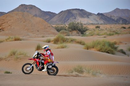 Barreda gana la tercera etapa en Marruecos y Gonçalves toma el mando