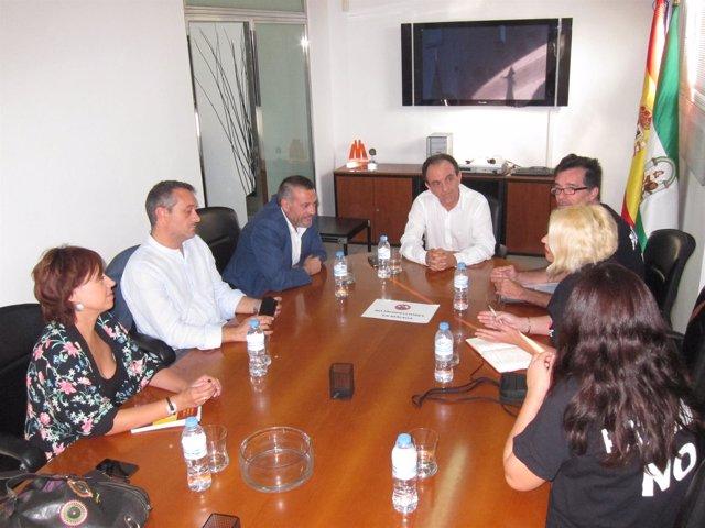 Reunión Rafael Rodríguez, Prospecciones, Castro, Turismo, Costa del Sol