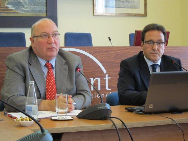 Salvador Guillermo y Ramon Adell (Fomento del Trabajo)