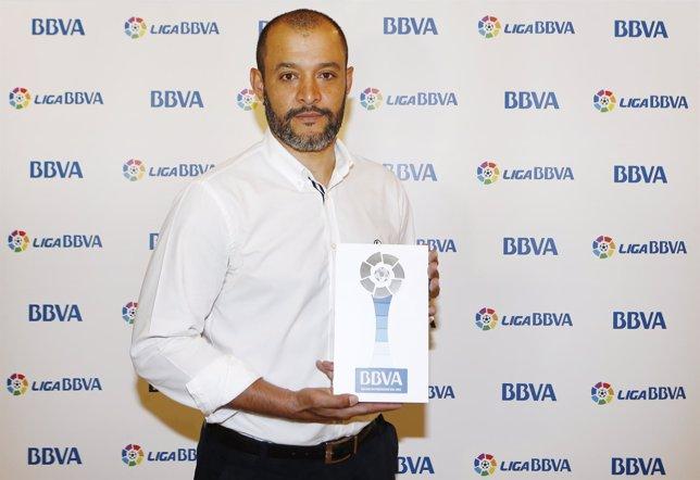 Nuno Espírito Santo, mejor entrenador de la Liga BBVA en septiembre