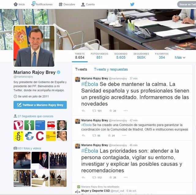 Rajoy Tuit