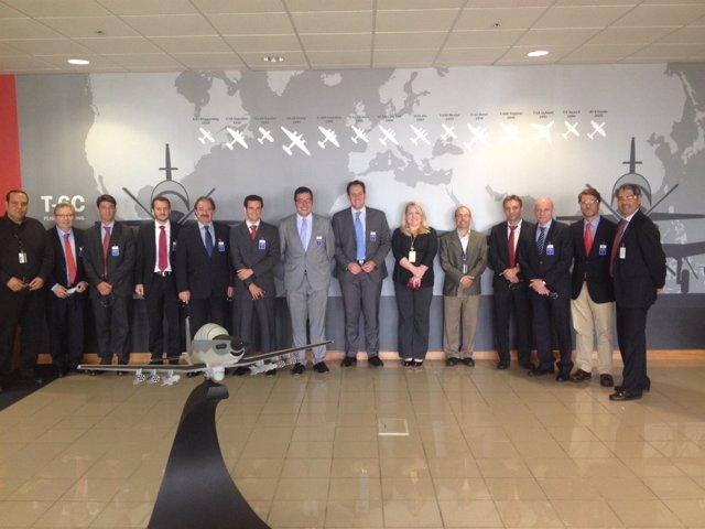 Empresas andaluzas participan en encuentro aeroesapacial en EEUU.