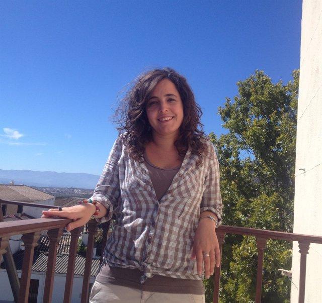 La nueva alcaldesa de Íllora, Sara Jiménez Vega.