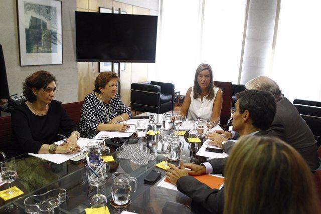 Comisión de seguimiento del ébola con Ana Mato