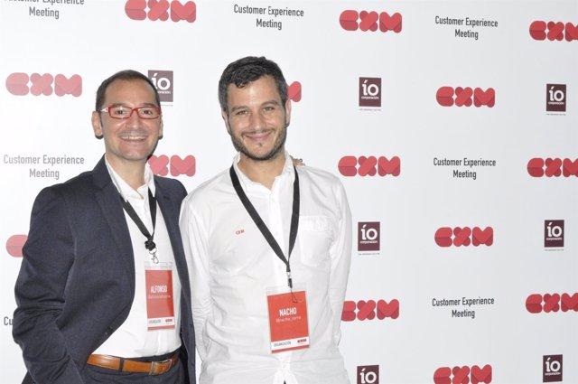 Alfonso Lahuerta, de IO Corporación y Nacho Torre, de Ibercaja.