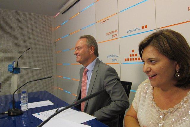 Fabra y Bonig presiden la Ejecutiva Regional del PPCV