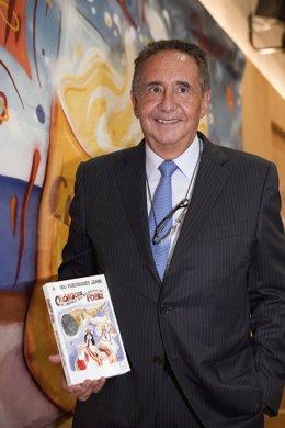 José Luis Manzanares Japón en la presentación de su nueva obra.