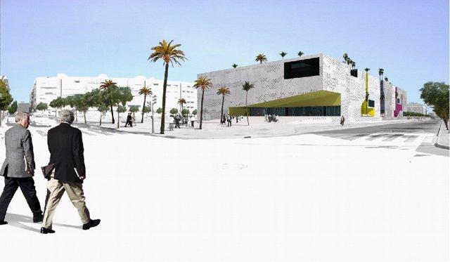 Recreación Virtual De La Ciudad De La Justicia De Córdoba