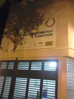 Fachada del CD Fundición.