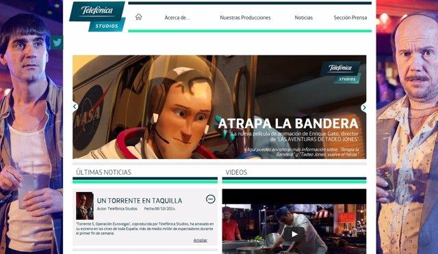 Web de Telefónica Studios