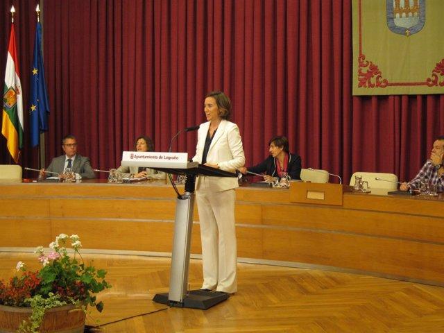 Cuca Gamarra, en el Debate de la Ciudad 2014