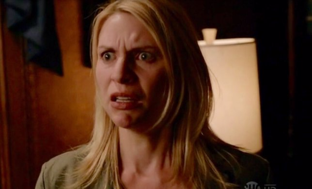 Las diez caras más tristes de Carrie en Homeland