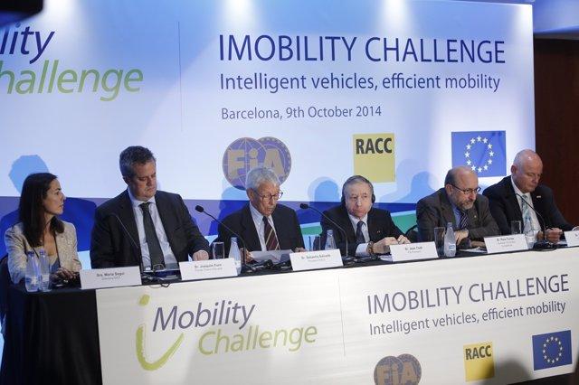 Presentación proyector iMobility Challenge