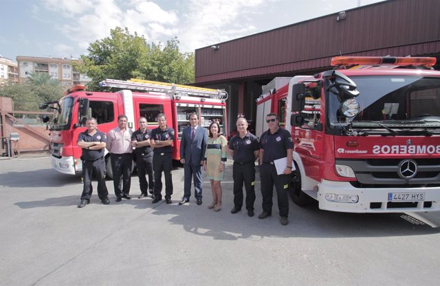 Vehículos de bomberos