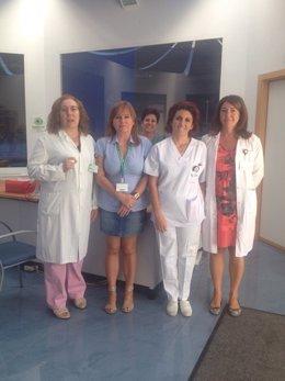 Trabajadoras del CTS de Jaén premiadas