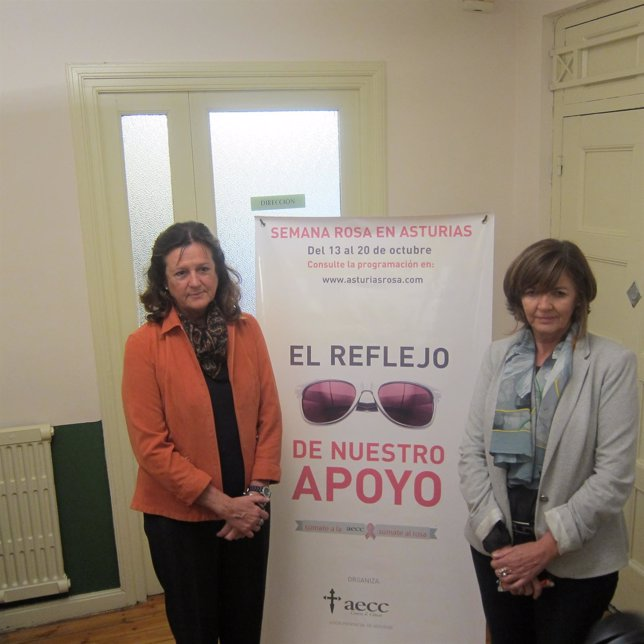 Responsables de AECC en Asturias