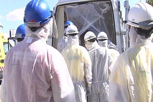El protocolo ante el ébola, en tela de juicio