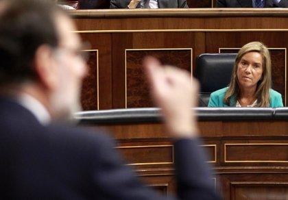 El PSOE examinará a Rajoy, Sáenz de Santamaría  y Ana Mato en el próximo Pleno del Congreso