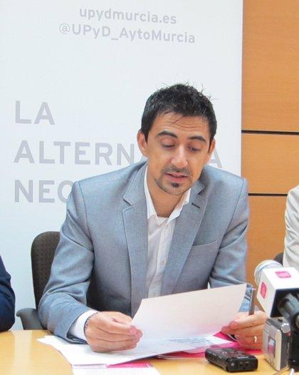 """UPyD Murcia critica las políticas """"erróneas"""" en transporte que provocan el """"descenso constante"""" de viajeros"""