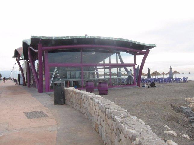 Chiringuito turismo málaga sol playa restaurante paseo