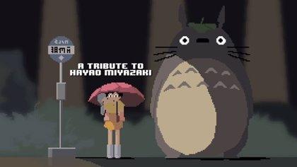 VÍDEO: Tributo a Hayao Miyazaki a golpe de pixel