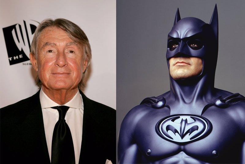 Joel Schumacher exonera a Clooney: Batman & Robin fue culpa mía