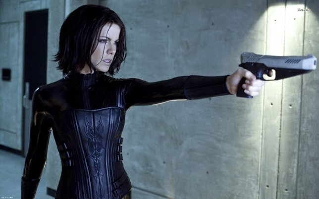 Kate Beckinsale en Underworld