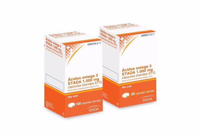 NOTA DE PRENSA: STADA Presenta El Medicamento Genérico Ácidos Omega 3 STADA EFG