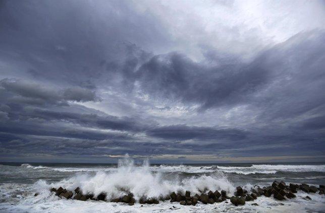 Barrera anti tsunami