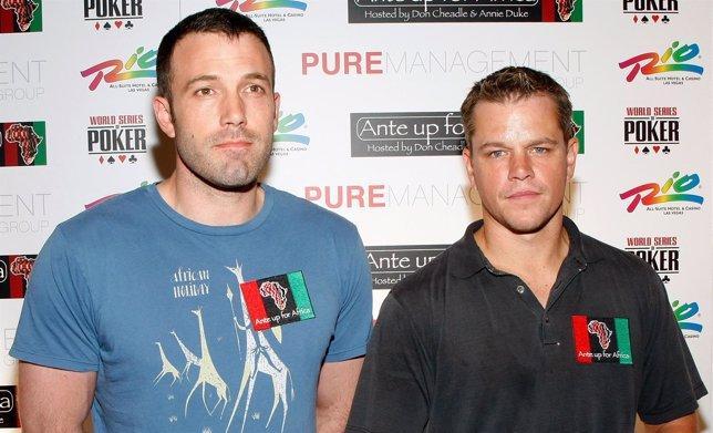 Ben Affleck y Matt Damon desarrollarán Incorporated