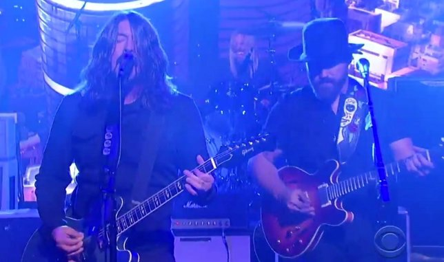 Dave Grohl y Zac Brown